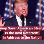 Trump Addresses The Developments In Iran