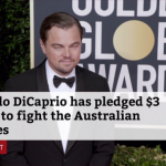 Leonardo DiCaprio Is Helping With The Australian wildfires