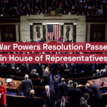 War Powers Resolution Passes